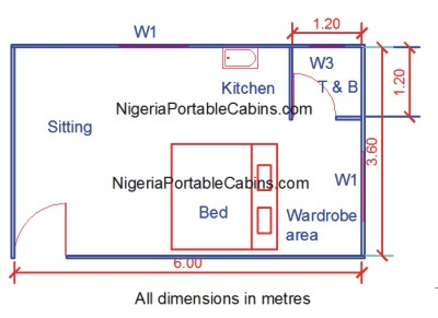 Prefab house plans nigeria free prefab and steel for Metal building with apartment plans