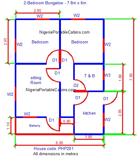 Bungalow Floor Plans Nigeria Free Bungalow House Plans