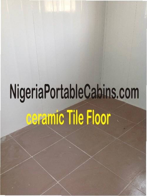 Portable Cabin Ceramic Floor Tiles Nigeria