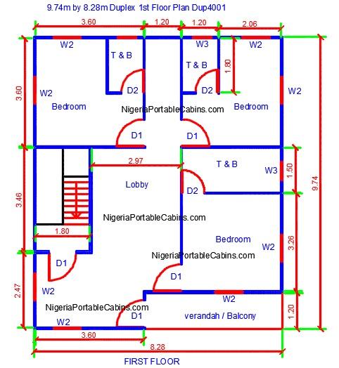 duplex house plans nigeria free duplex floor plans free download