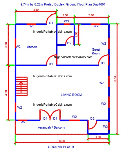duplex house plans nigeria