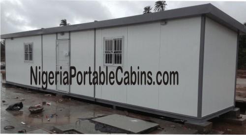 12m by 2.4m Portable Cabin Nigeria