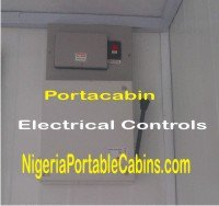 Circuit breaker and gear switch for portable cabins made in Nigeria