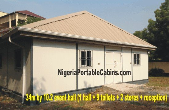 Prefab office Building Nigeria