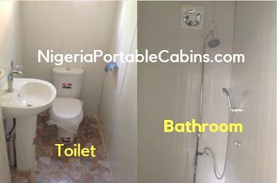 Portable Cabin Toilet And Bathroom Interior Nigeria